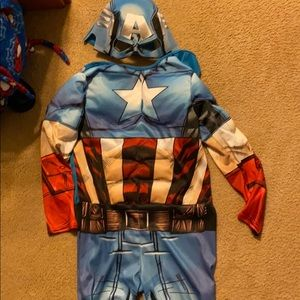 Marvel captain America costume